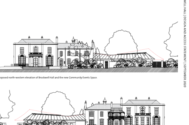 Brockwell Hall and Stables successful Round 2 submission to the National Heritage Lottery Fund